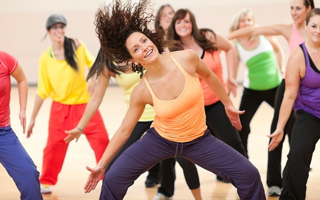 zumba per dimagrire le gambe